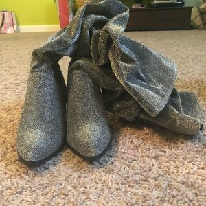 Rue 21 Sparkly Boots